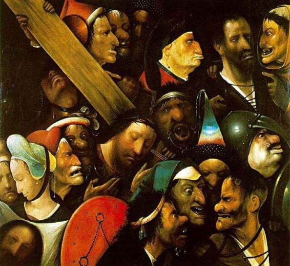 Cristo carregando a cruz - Hieronymus BOSCH