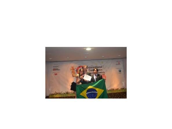 Delegação Brasileira da ICYS após a cerimônia de premiação