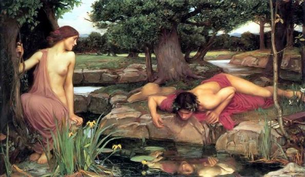 eco e narciso John William Waterhouse 1903