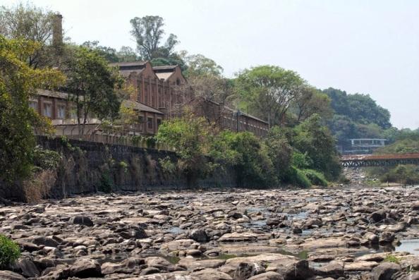 Rio Piracicaba seco - foto de Fabrice Desmonts