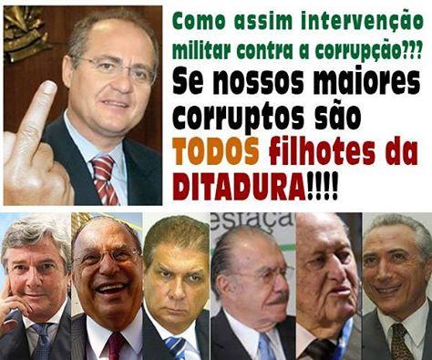 políticos na ditadura